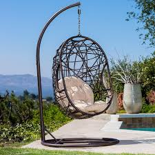 Metal Egg Chair by Guerneville Egg Shaped Swing Chair Amazon Ca Home U0026 Kitchen