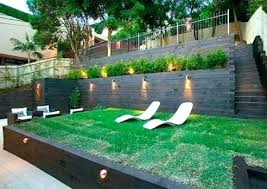 Landscaping Ideas For Sloped Backyard Hillside Backyard Landscaping Ideas Design Solutions For Sloping