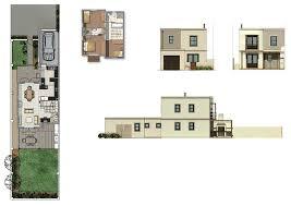 Row House Plans - kelderhof country village row house