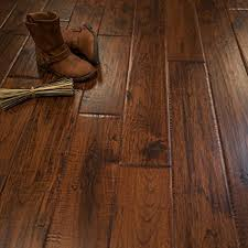 Cheap Solid Wood Flooring Hickory Character Crest Prefinished Solid Wood Flooring 5