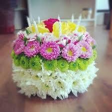 birthday flower cake same day birthday flower cake norwood ma florist