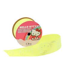 hello ribbon 1 and half in hello neon yellow ribbon joann