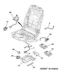 siege auto qui bouge réparation siège électrique qui bouge jeu dans l assise 407