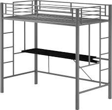 Bunk Bed With Loft Bunk Beds U0026 Loft Beds With Desks Wayfair
