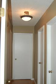 contemporary interior lighting decor with small hallway space