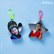 cookie cutter photo ornaments today s parent