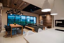 young modernist condominium interior design by nu infinity