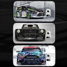 hoonigan cars real life ken block ford hoonigan drift car case cover galaxy s5 s6 s7 edge