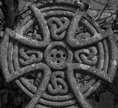 headstone maker celtic headstone in the graveyard of maker church rame peninsula