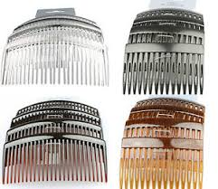 hair slides hair combs hair slides 4 pack of black clear tort hair comb
