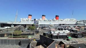 queen mary painted funnel reveal nbc southern california