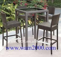 Rattan Bar Table Outdoor Rattan Bar High Table And Chairs For Garden Buy Bar High