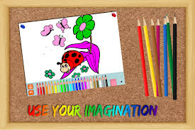 coloring game for kids flowers android apps on google play