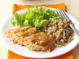 salmon with brown sugar glaze recipe taste of home