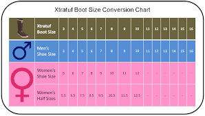womens boots size 11 and 12 xtratuf boot conversion chart s to s boot sizes