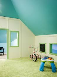 playroom decorating ideas on a budget convert attic to low ceiling