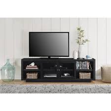 altra furniture bailey 72 in black oak tv stand 1780096com the