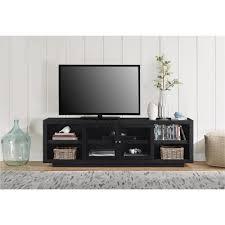 altra furniture bailey 72 in black oak tv stand 1780096com the