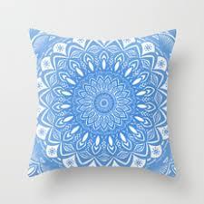 minimal mandala throw pillows society6