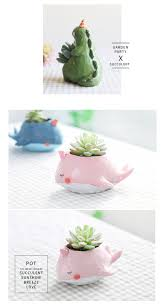 animal planter cute animal planters series 1 apollobox