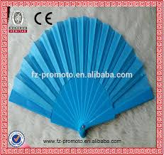 church fans wholesale custom paper fans on a stick
