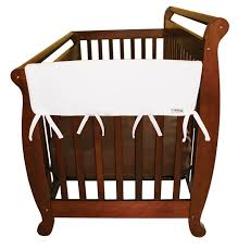White Convertible Crib Sets by Amazon Com Trend Lab Fleece Cribwrap Rail Covers For Crib Sides