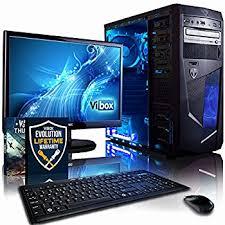 ordinateur de bureau puissant ordinateur de bureau puissant unique vibox vision 2 unité centrale