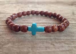bead bracelet with cross images 70 best mens bracelets images leather bracelets jpg