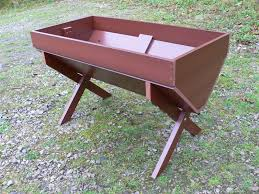 cradle bed planter recycled plastic plastic wood trade