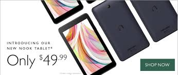 amazon kindle fire tablet black friday barnes u0026 noble launches 50 nook tablet 7 inch on sale starting
