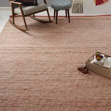 plain weave sweater wool rug cayenne west elm rugs