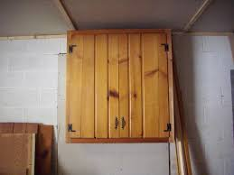 Kitchen Cabinet Garage Door by Recycle Old Kitchen Cabinets