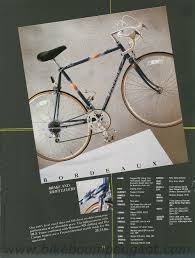 peugeot bike white peugeot 1988 usa brochure