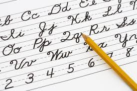 how write cursive handwriting cursive handwriting should it stay or go