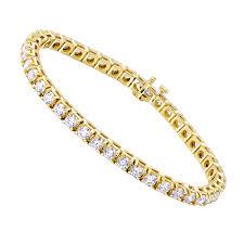 bracelet gold diamond tennis images 14k gold diamond tennis bracelet round diamonds 9 72ct jpg