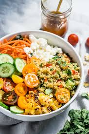 ina garten curry chicken salad summer glow bowls with honey curry vinaigrette plays well with