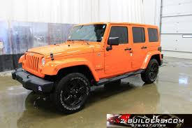 orange jeep wrangler unlimited for sale jeep wrangler unlimited 3 6l salvage title repairable