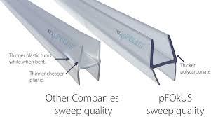 glass sealer for shower doors frameless glass shower door sweep shower door seal free shipping