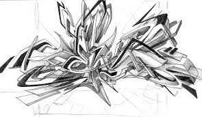 4 best images of 3d graffiti sketches 3d graffiti art sketches