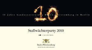Baden Wurttemberg Flag Stallwächterparty U2013 Das Politische Sommerfest In Berlin Vertretung