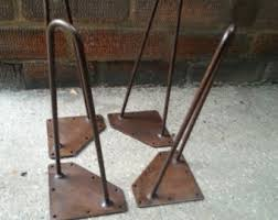 vintage hairpin table legs eames table etsy