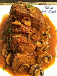 turkey mushroom gravy recipe details italian pot roast slow cooked beef roast with italian herbs and