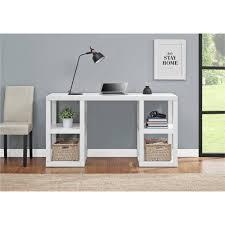 altra furniture parsons deluxe writing desk in black oak walmart com