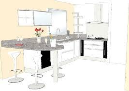 plan de cuisine en ligne plan de cuisine avec ilot plan de cuisine tout en longueur avec ilot