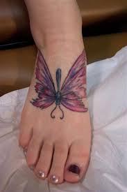 butterfly picture design tattoos on buttocks design idea for