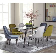 rectangle glass dining room tables shop dining tables at lowes com