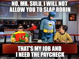 Batman Slapping Robin Meme Maker - what kind of girl you should date