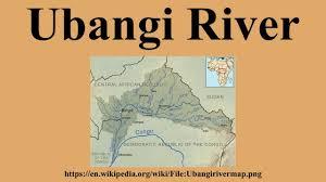 Africa Map Rivers by Ubangi River Youtube