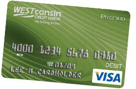 prepaid reloadable cards prepaid reloadable visa cards westconsin credit union