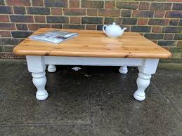 antique white distressed coffee table solid pine coffee table rustic farmhouse shabby chic antique white